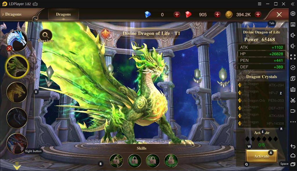 Divine Dragon On Dragon Storm Fantasy
