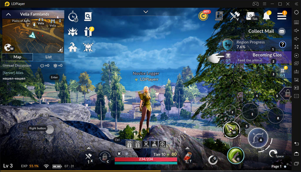 Play Black Desert Mobile With LDPlayer