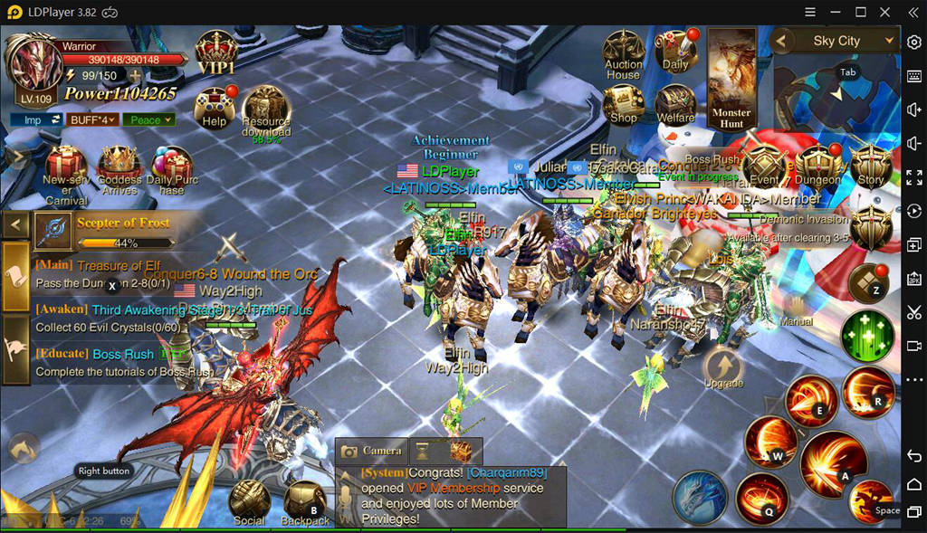 Play Dragon Storm Fantasy On PC With LDPlayer