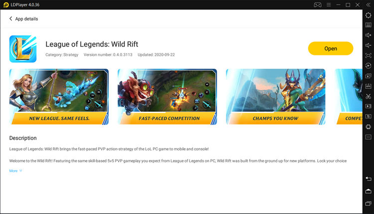 Download League of Legends Wild Rift on PC with LDPlayer