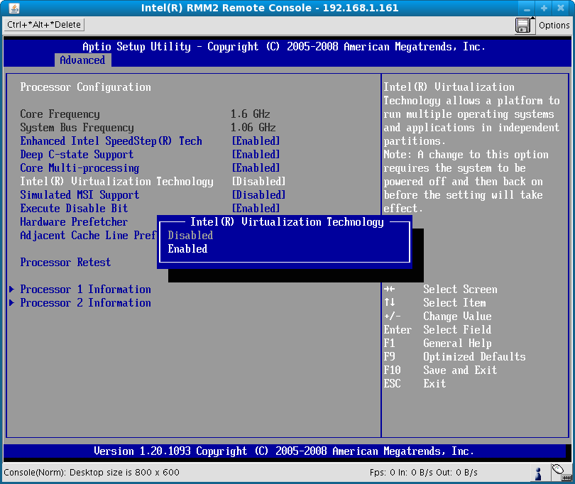 How to enable VT (Virtualization Technology)