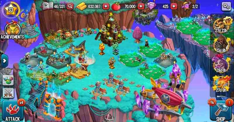 Monster legends level up offers