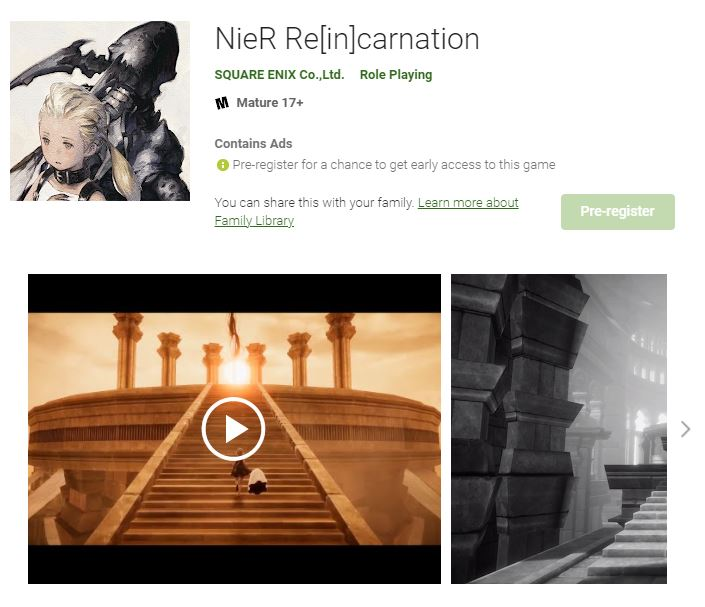 NieR Reincarnation Release Date Gameplay Tips Characters and Pre-Registration Guide
