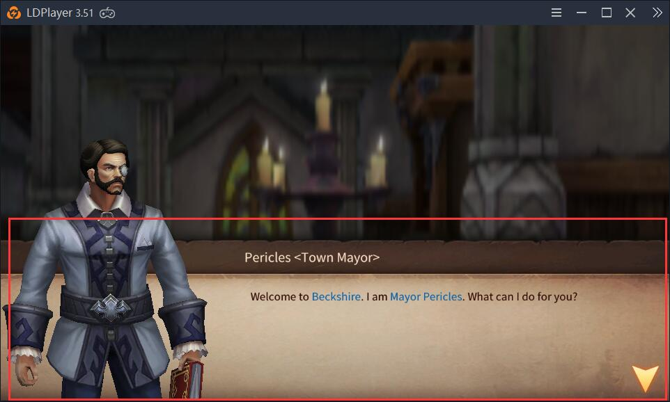 A solution to the problem that no story pops up in Era of Legends
