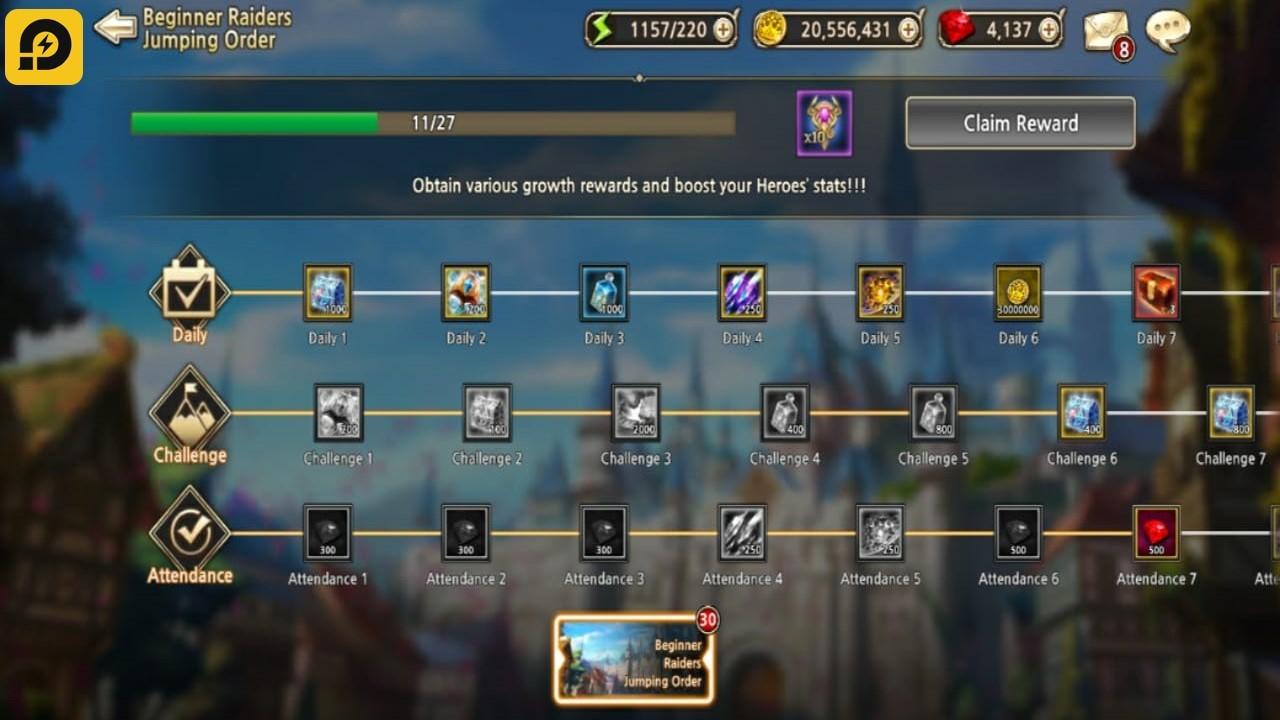 Mainkan Kings Raid di PC: Update Patch Terbaru dan Sejumlah Tips Early-Game