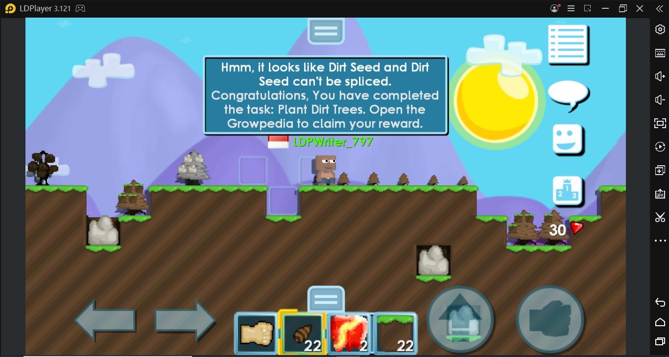 Bermain Game Growtopia di PC atau Laptop: Cara Farming Growtopia Lebih Cepat