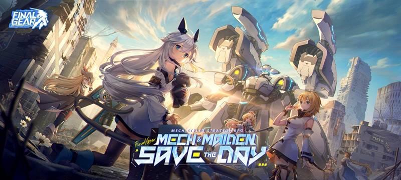 """RPG Strategi Mech-Style Terbaik yang Pernah Ada: """"Final Gear"""" Diluncurkan Secara Global pada 30 September!"""
