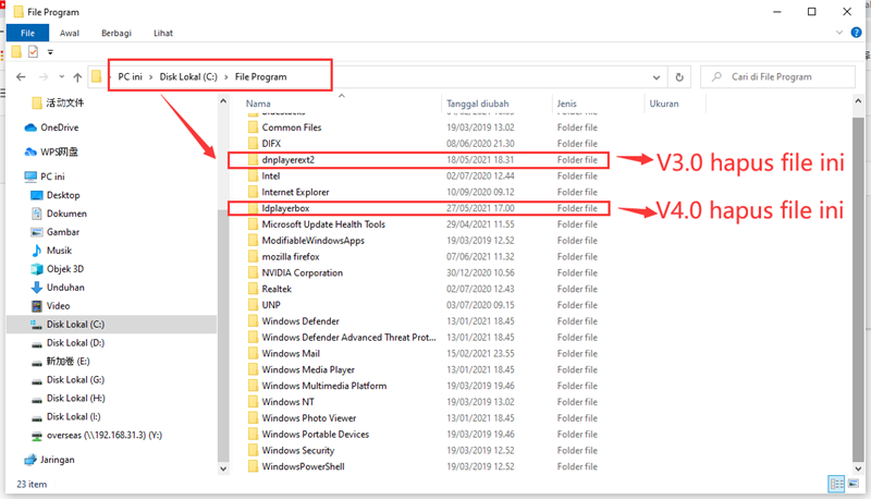 Solusi memulai LDPlayer meminta Tidak dapat memperoleh antarmuka COM Hard disk virtual tidak valid