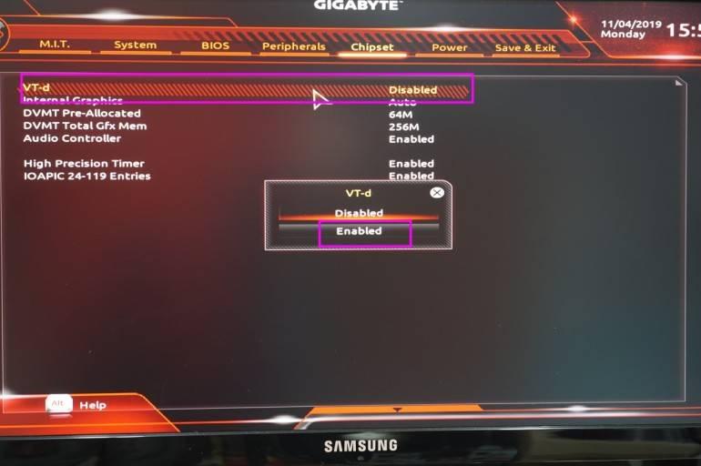 GIGABYTE(기가바이트) 메인보드에서 VT 활성화 방법