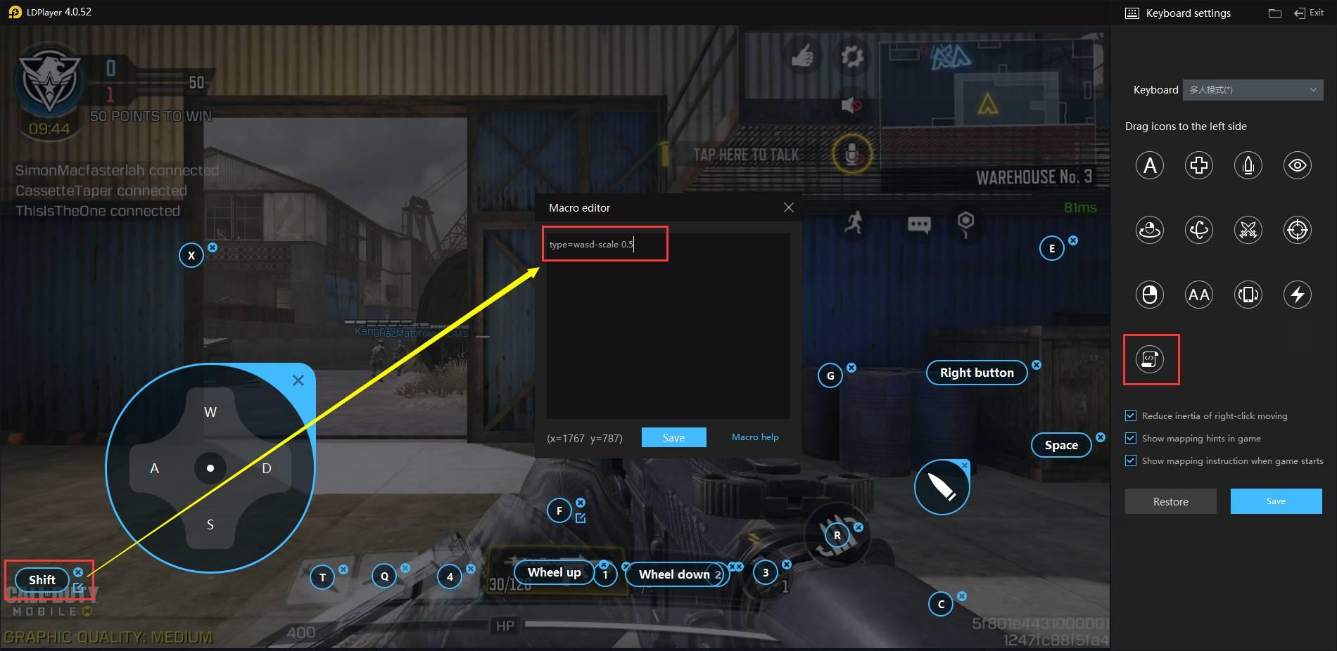 Dica-Função de andar lentamente no jogo《COD》,《PUBG Mobile》,《Standoff 2》e outros jogos