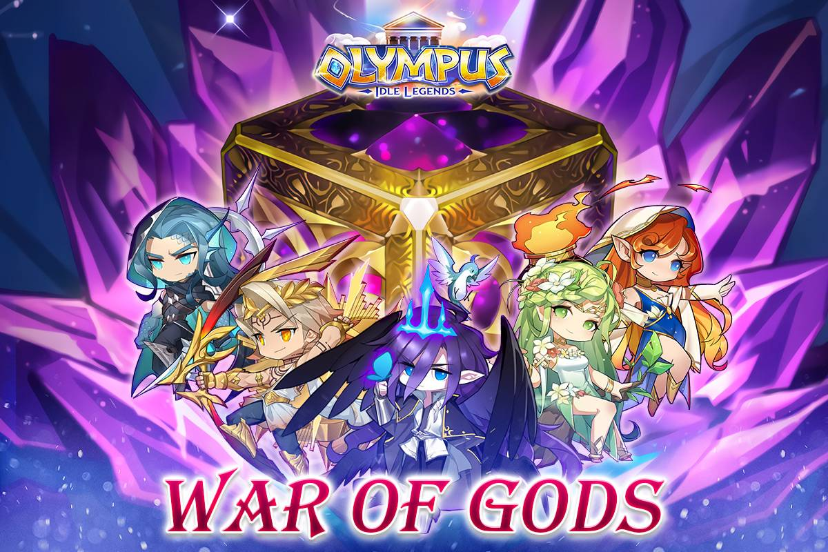 Olympus: Idle Legends é lançado oficialmente em 15 de setembro!