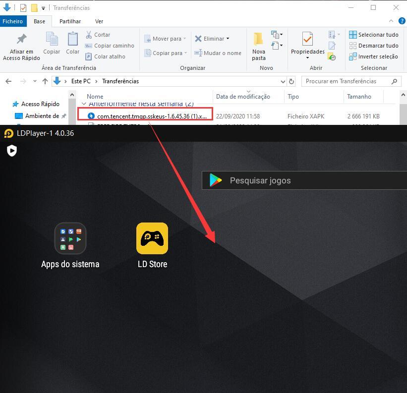 Como instalar APK no LDPlayer