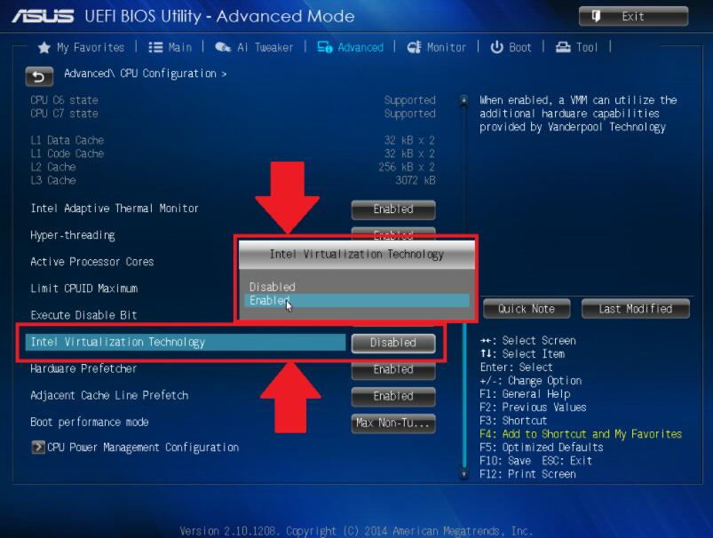 Como habilitar VT (Tecnologia de virtualização) ?