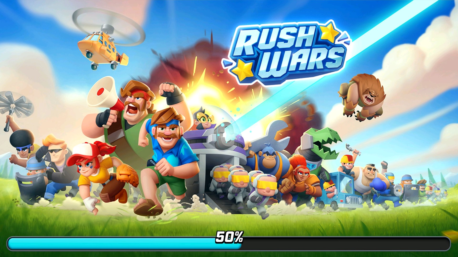 Supercell New Game Rush Wars Test, Surpr...