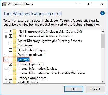 Teknologi Virtualisasi diaktifkan di BIO...