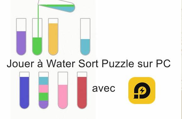 Comment jouer à Water Sort Puzzle sur PC
