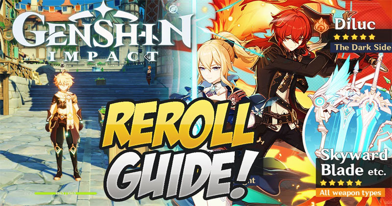 Genshin Impact how to reroll 45+ Summons...