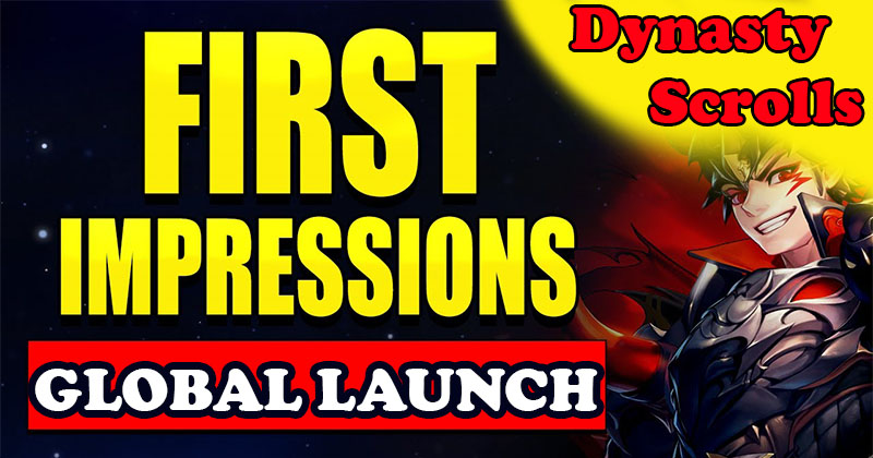 Dynasty Scrolls: Global Launch and First...