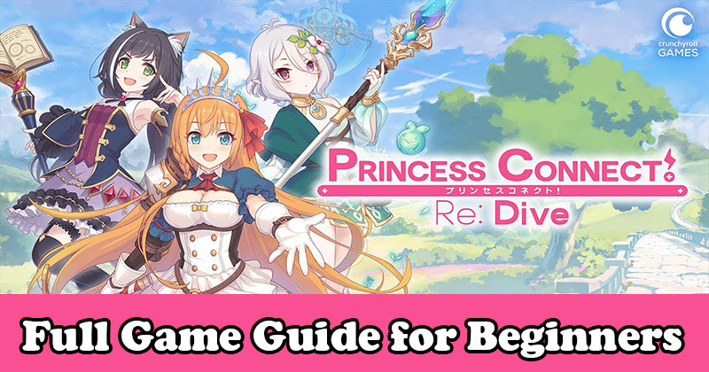Princess Connect! Re: Dive Full Game Gui...