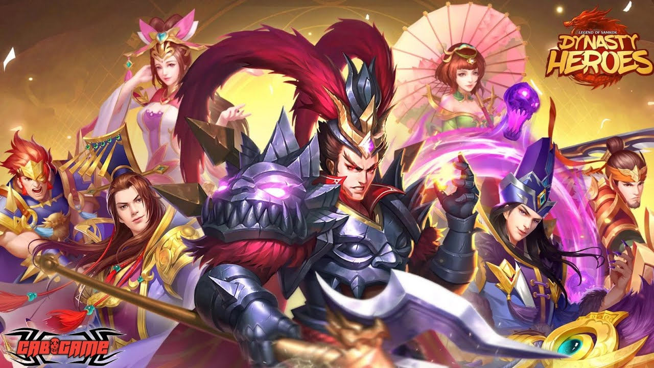 Mainkan Dynasty Heroes: Legend of SamKok...