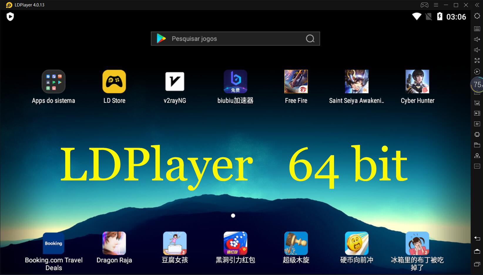 Baixe o emulador de 64-bit para jogos ne...