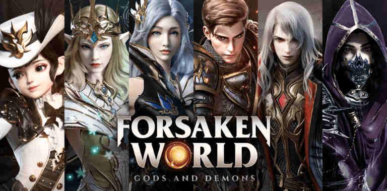 Играть в Forsaken World: Gods and Demons...